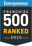 Entrepreneur Franchise 500 Ranked in 2020