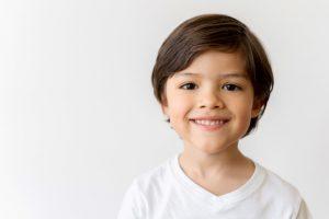 Portrait of a happy Latin American boy