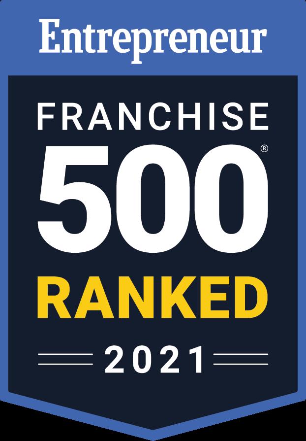 Entrepreneur Franchise 500 Ranked 2021