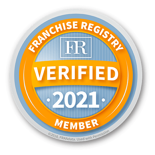 Franchise Registry Member 2021 - Verified Badge