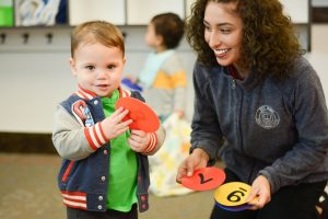 learning numbers at Ivy Kids
